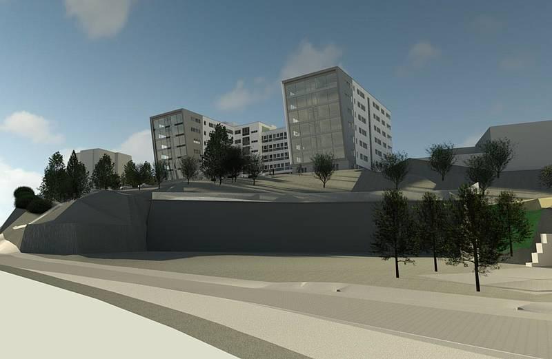 Baubeginn Neubau 2. Bauabschnitt bei IT Paradies in Jena - Generalplaner HI Bauprojekt GmbH - Planung