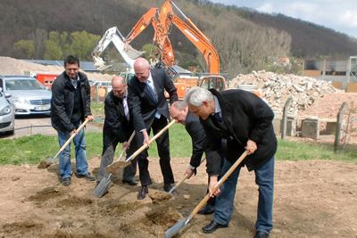 Baumaßnahme - Rückbau und Erschließung im Gewerbegebiet Blankenburger Straße (ehem. OFW GmbH) Rudolstadt-Schwarza