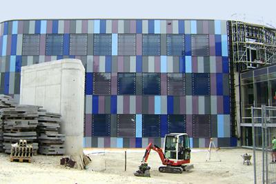 Erweiterungsbau des Fraunhofer Instituts steht kurz vor der Fertigstellung