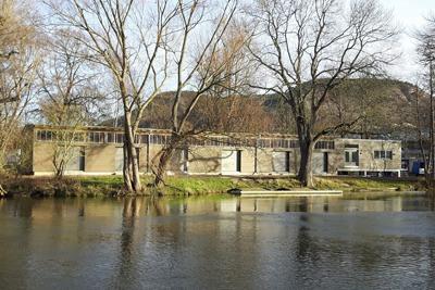 Schadensbeseitigung nach Hochwasser: Ersatzneubau des Bootshauses der Friedrich-Schiller-Universität Jena fertiggestellt