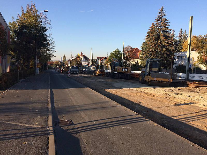 Straßenbahnneubau Jena Nord